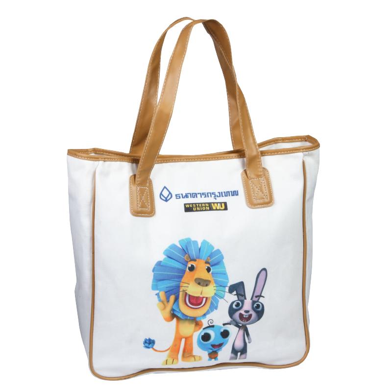 กระเป๋าผ้า ( เเบบที่ 1 )