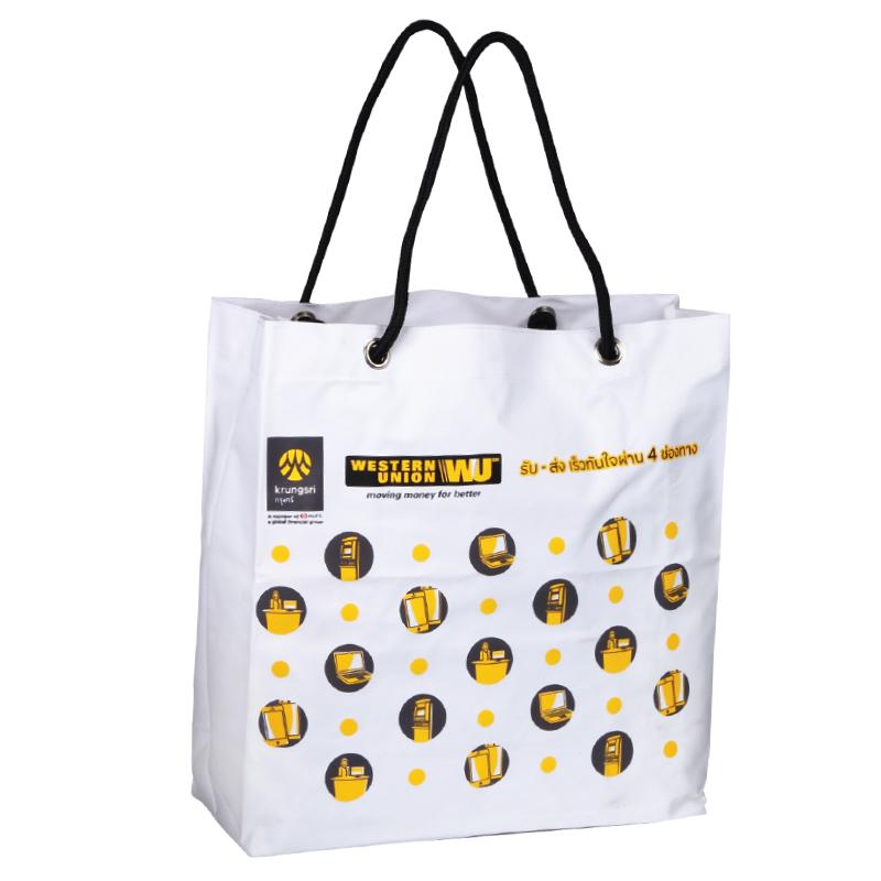 กระเป๋าผ้า ( เเบบที่ 6 )