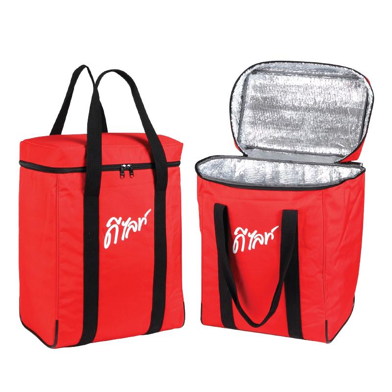 กระเป๋าเก็บความเย็น เเละ ความร้อน ( เเบบที่ 1 )