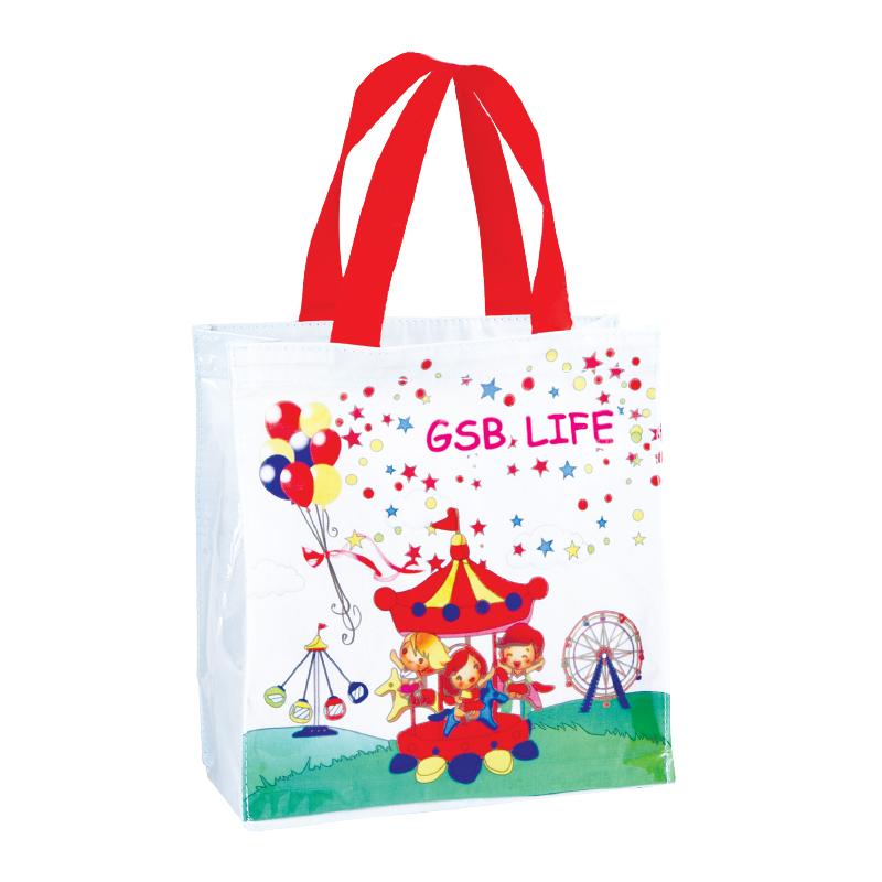กระเป๋า Shopping ( เเบบที่ 6 )